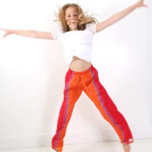 Orange trousers