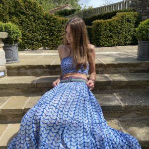 Layered Maxi Skirts
